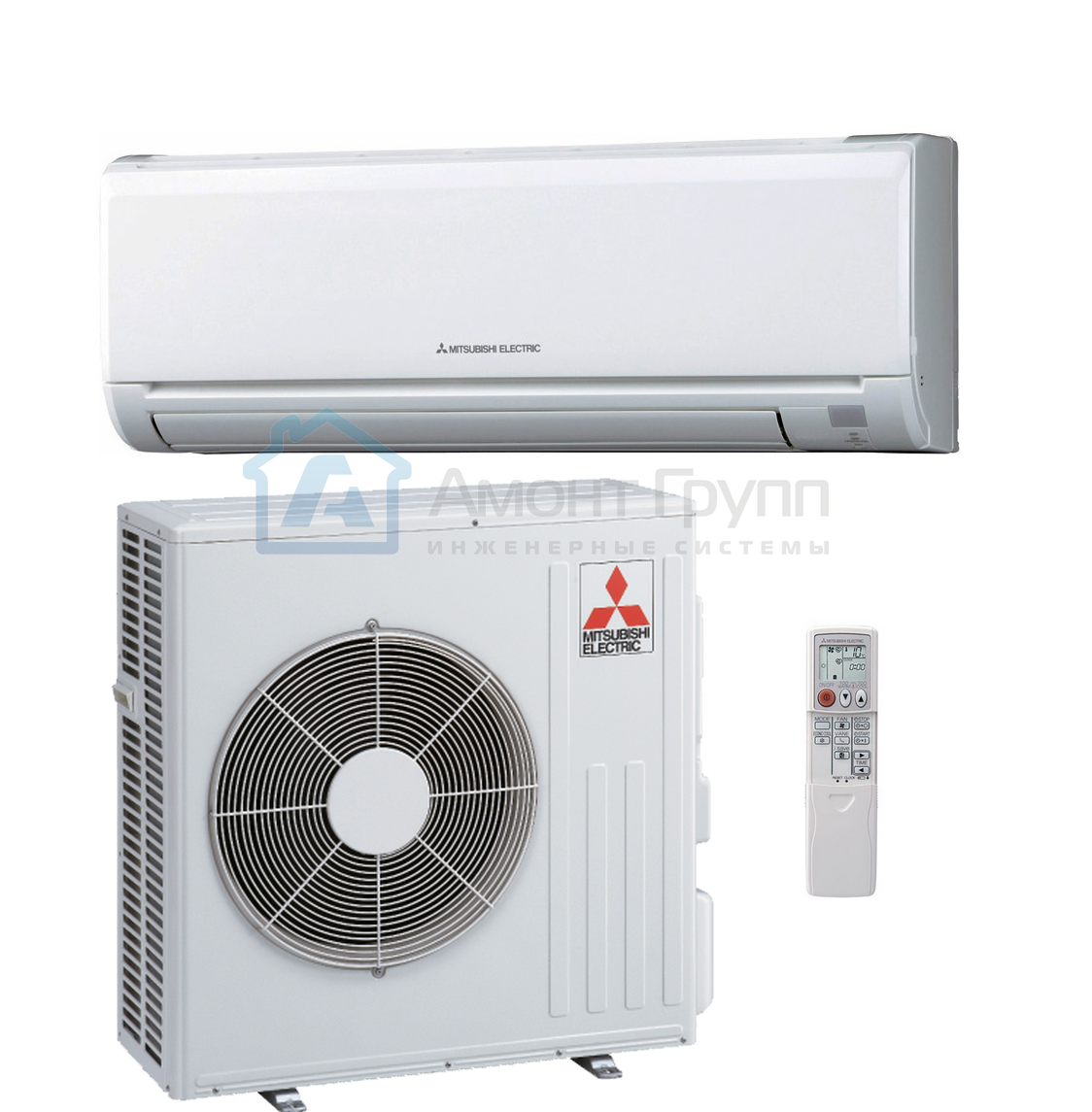 Настенная сплит-система Mitsubishi Electric MS-GF80VA/MU-GF80VA